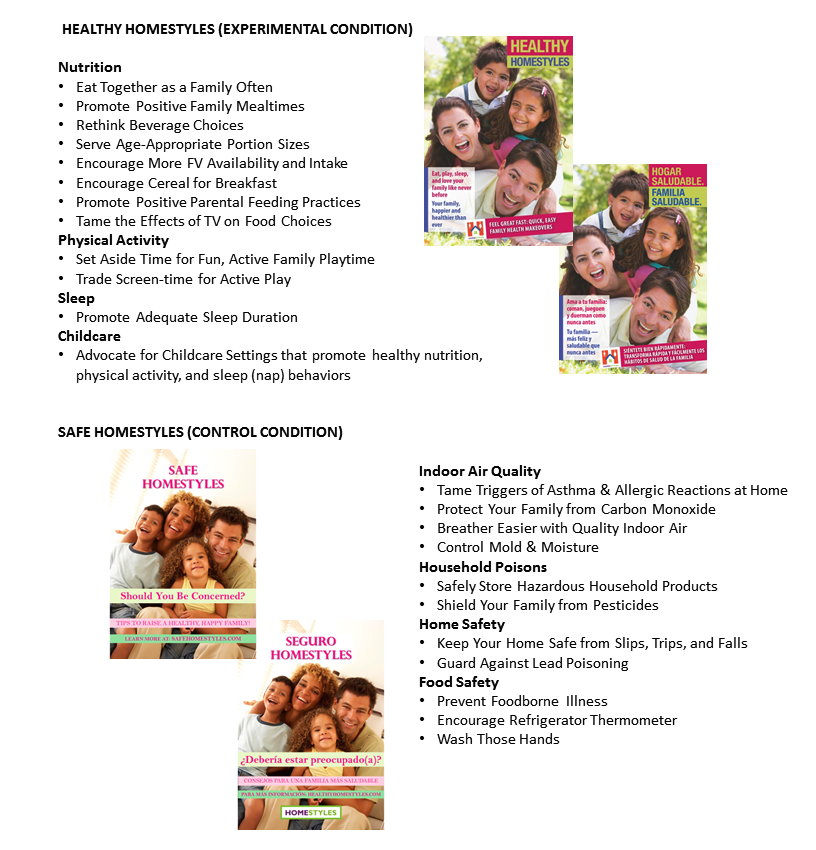 Jrp Homestyles A Web Based Childhood Obesity Prevention Program