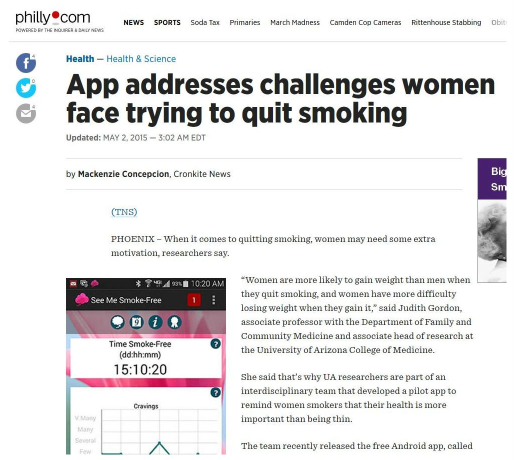 jrp recruiting women to a mobile health smoking cessation trial low