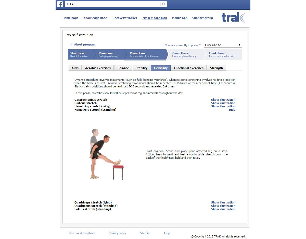 JRP-TRAK App Suite: A Web-Based Intervention for Delivering Standard ...