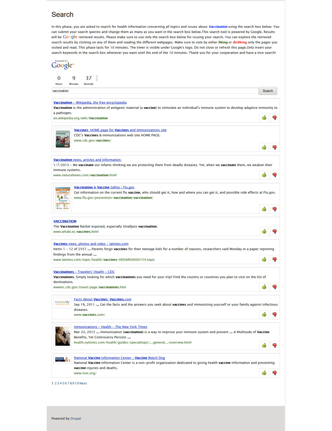 Pro Vaccine Messages Can Boost Belief >> Jmir The Impact Of Search Engine Selection And Sorting Criteria On