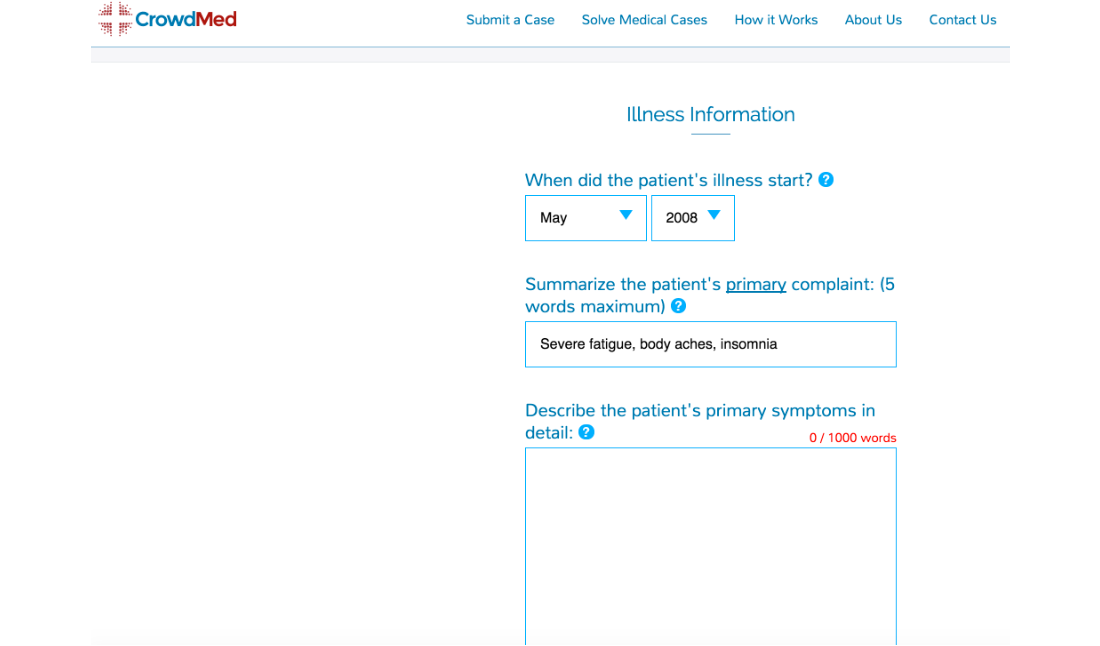 CrowdMed offers a cure for the undiagnosed