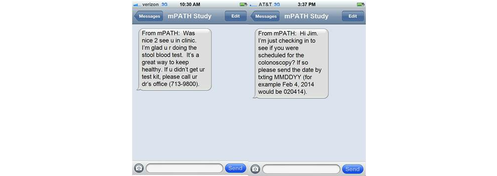 Jmu Crafting Appealing Text Messages To Encourage Colorectal Cancer