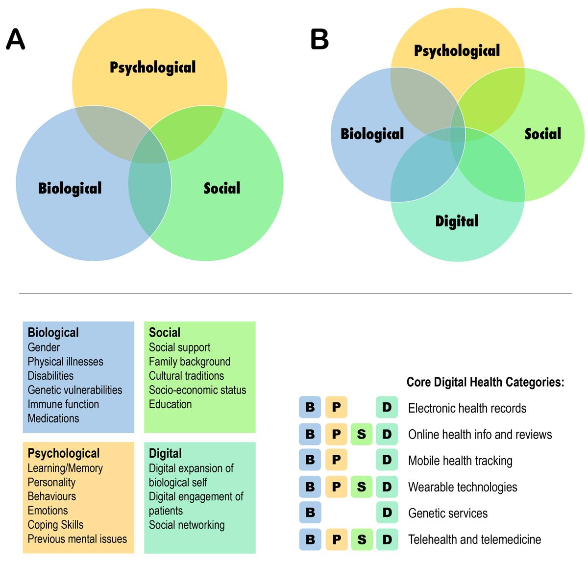 biomedical vs biopsychosocial