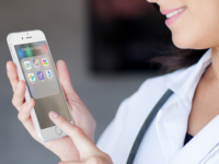 Medical apps (montage). Source: The Authors / Placeit; Copyright: JMIR Publications; URL: http://mhealth.jmir.org/2018/10/e10531/; License: Creative Commons Attribution (CC-BY).