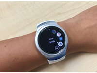 The app created on the smart watch. Source: The Authors; Copyright: Min Hooi Yong; URL: http://mental.jmir.org/2018/3/e10153/; License: Creative Commons Attribution (CC-BY).