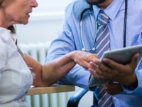 Source: Freepik; Copyright: peoplecreations; URL: https://www.freepik.com/free-photo/male-doctor-discussing-with-patient-over-digital-tablet_1008361.htm#term=doctor%20tablet&page=4&position=28; License: Licensed by JMIR.