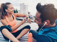 Creating Engaging Health Promotion Campaigns on Social Media: Observations and Lessons From Fitbit and Garmin