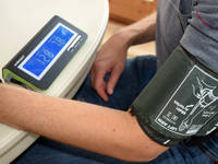 Validation of Two Automatic Blood Pressure Monitors With the Ability to Transfer Data via Bluetooth