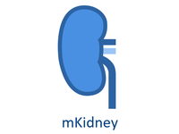mKidney Mobile Health System logo. Source: Image created by the Authors; Copyright: The Authors; URL: https://www.mkidney.org/; License: Creative Commons Attribution (CC-BY).