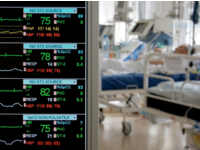 ICU monitoring. Source: Dreamstime; Copyright: Andrei Malov; URL: https://www.dreamstime.com/stock-photography-monitoring-icu-image2549142; License: Licensed by the authors.