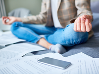 Source: iStock; Copyright: shironosov; URL: https://www.istockphoto.com/photo/relaxing-during-work-gm865800652-143825315; License: Licensed by the authors.