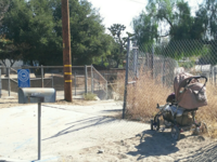 Here, an elderly gentleman uses a second-hand stroller while attending a health fair. There is a high prevalence of falls in the elderly population; creativity abounds as patients attempt to compensate for disequilibrium. Source: Image created by the Authors; Copyright: The Authors; URL: http://aging.jmir.org/2018/2/e11772/; License: Creative Commons Attribution (CC-BY).