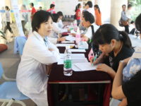 A free clinic for children with precocious puberty, held by the doctors of endocrinology department in Guangzhou Women and Children's Medical Center. Source: Image created by the Authors; Copyright: The Authors; URL: http://medinform.jmir.org/2019/1/e11728/; License: Public Domain (CC0).