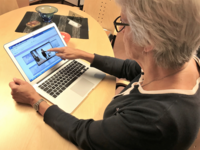 eHealth as support for chronic obstructive pulmonary disease–related self-management strategies. Source: Image created by the Authors; Copyright: Sara Lundell; URL: http://humanfactors.jmir.org/2018/4/e10801/; License: Creative Commons Attribution (CC-BY).
