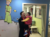 A rehabilitated child at the Children's Hospital of Shanghai. Source: Image created by the Authors; Copyright: Children's Hospital of Shanghai; URL: http://medinform.jmir.org/2019/1/e12577/; License: Creative Commons Attribution (CC-BY).
