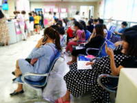 Pregnant women waiting for antenatal care in the maternity department of the Maternal and Child Health Hospital of Hunan Province. Source: The Authors; Copyright: The Authors; URL: http://mhealth.jmir.org/2018/11/e11508/; License: Licensed by JMIR.