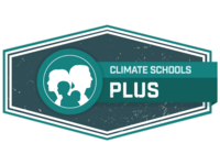 The Climate Schools Plus logo. Source: Image created by Authors; Copyright: Netfront Pty Ltd / The Authors; URL: http://www.researchprotocols.org/2018/8/e10849/; License: Licensed by JMIR.