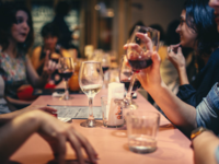 Source: Pexels; Copyright: Helena Lopes; URL: https://www.pexels.com/photo/people-drinking-liquor-and-talking-on-dining-table-close-up-photo-696218/; License: Licensed by JMIR.