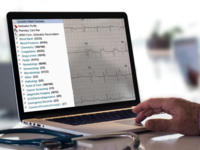 Clinical Document Viewer showing common information types shared through an interoperable Electronic Health Record and an electrocardiogram (montage). Source: Tim Graham; Copyright: Tim Graham; URL: http://medinform.jmir.org/2018/3/e10184; License: Licensed by JMIR.