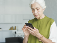 Source: Freepik; Copyright: Freepik; URL: https://www.freepik.com/free-photo/portrait-of-senior-woman-texting-on-cell-phone-at-home_3115584.htm; License: Licensed by JMIR.