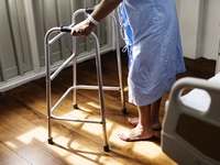 Source: Pexels; Copyright: rawpixel.com; URL: https://www.pexels.com/photo/person-in-hospital-gown-using-walking-frame-beside-hospital-bed-748780/; License: Licensed by the authors.