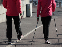 Source: Pixabay.com; Copyright: Tsippendale; URL: https://pixabay.com/en/nordic-walking-summer-fitness-1369306/; License: Public Domain (CC0).