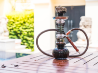 Automated Identification of Hookahs (Waterpipes) on Instagram: An Application in Feature Extraction Using Convolutional Neural Network and Support Vector Machine Classification