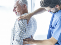 Source: Freepik; Copyright: Freepik; URL: https://www.freepik.com/free-photo/young-doctor-examining-aching-back-of-elderly-man_3038046.htm; License: Licensed by JMIR.