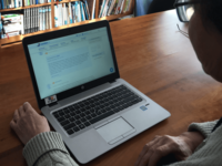 Reading patient stories on a Dutch online community for cancer patients. Source: Image created by the Authors; Copyright: The Authors; URL: http://cancer.jmir.org/2018/1/e6/; License: Creative Commons Attribution (CC-BY).