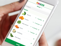 VegEze — a mobile phone application to increase vegetable consumption. Source: Image created by the Authors; Copyright: The Authors; URL: http://formative.jmir.org/2019/1/e10731/; License: Creative Commons Attribution (CC-BY).