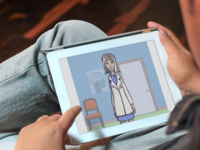 Tablet-based app to facilitate greater participation in and satisfaction with the consent process (montage). Source: The Authors / Placeit; Copyright: JMIR Publications; URL: http://www.researchprotocols.org/2018/11/e10360/; License: Creative Commons Attribution (CC-BY).
