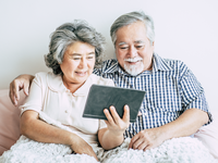 Source: Freepik; Copyright: jcomp; URL: https://www.freepik.com/free-photo/elderly-couple-using-tablet-computer_4107904.htm; License: Licensed by JMIR.