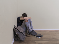 Source: Freepik; Copyright: predragphoto77; URL: https://www.freepik.com/free-photo/depressing-schoolboy-has-difficulty-with-learning_1231209.htm; License: Licensed by JMIR.