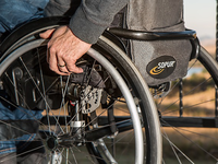 Smartphone and wheelchair user. Source: Pixabay; Copyright: Steve Buissinne; URL: https://pixabay.com/photos/wheelchair-disability-injured-749985/; License: Creative Commons Attribution (CC-BY).